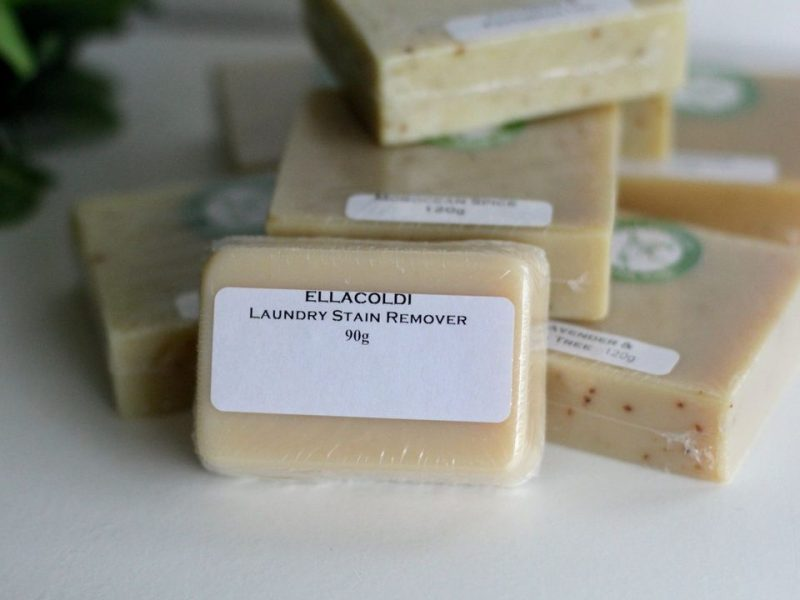 goats milk laundry stain remover soap