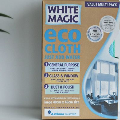 white magic eco cloths 3 pk