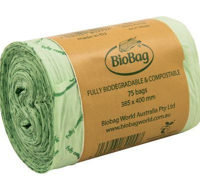 8 litre biobags - 75 bag roll
